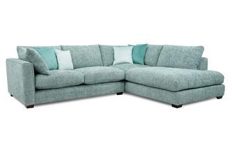 Left Hand Facing Arm Small Open End Corner Sofa