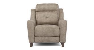 Kansas Fabric Power Recliner Chair