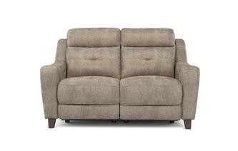Fabric 2 Seater Power Recliner