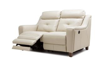 Leather 2 Seater Power Recliner