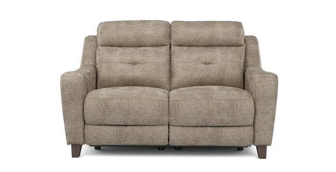 Stupendous Kansas Fabric 2 Seater Power Plus Recliner Kansas Plain Inzonedesignstudio Interior Chair Design Inzonedesignstudiocom