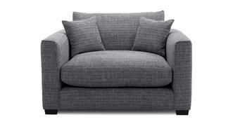 Keaton Weave Snuggler Sofa
