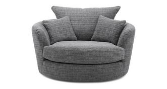 Keaton Weave Large Swivel Chair