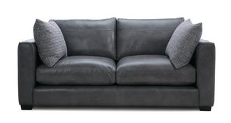 Keaton Leather Large 2 Seater Sofa