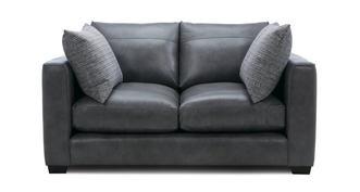 Keaton Leather Small 2 Seater Sofa