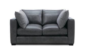 Leather Small 2 Seater Sofa