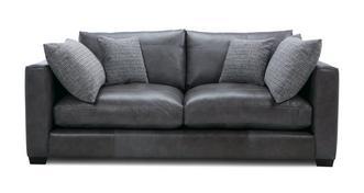 Keaton Leather 3 Seater Sofa