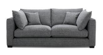 Keaton Weave 3 Seater Sofa