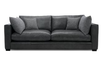 Leather 4 Seater Sofa Keaton Leather