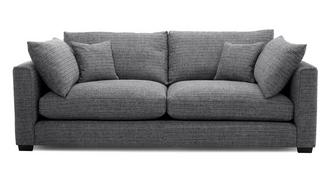 Keaton Weave 4 Seater Sofa
