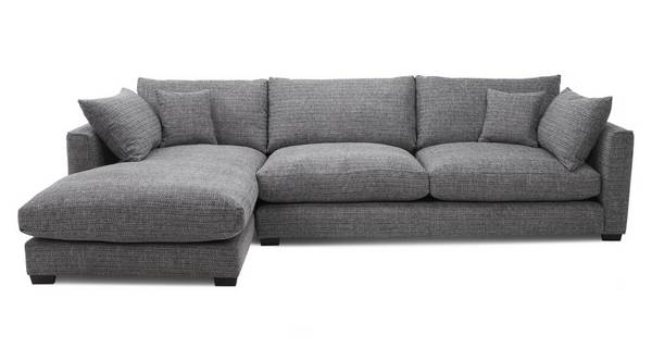 About the Keaton: Weave Left Hand Facing Large Chaise End Sofa