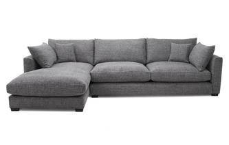 Weave Left Hand Facing Large Chaise End Sofa Keaton Weave