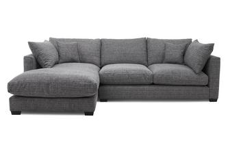 Weave Left Hand Facing Small Chaise End Sofa