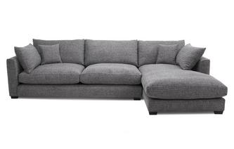 Weave Right Hand Facing Large Chaise End Sofa Keaton Weave