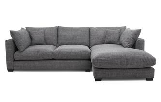 Weave Right Hand Facing Small Chaise End Sofa Keaton Weave