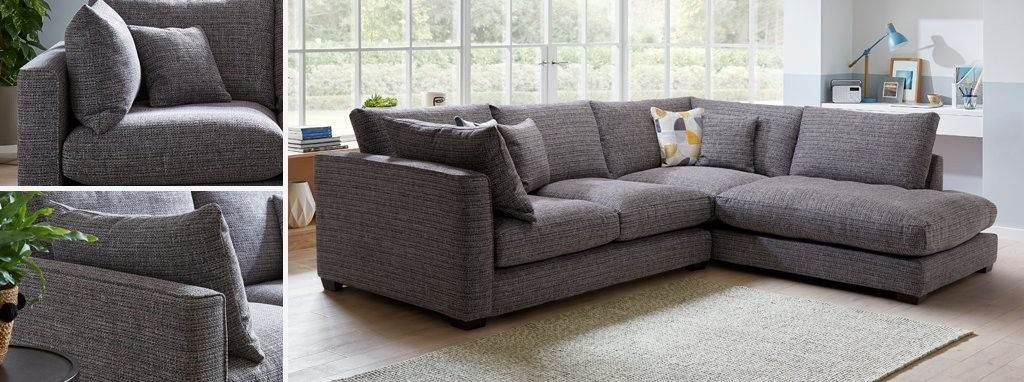 Sensational Keaton Weave Left Hand Facing Arm Small Open End Corner Sofa Andrewgaddart Wooden Chair Designs For Living Room Andrewgaddartcom