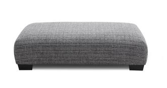 Keaton Weave Large Rectangular Footstool