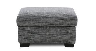 Keaton Weave Small Storage Footstool