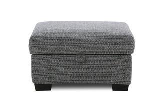 Weave Small Storage Footstool Keaton Weave