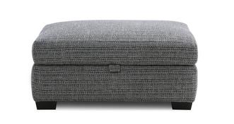 Keaton Weave Large Storage Footstool