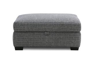 Weave Large Storage Footstool
