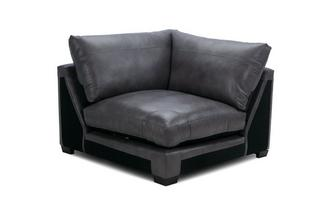 Leather Corner Unit