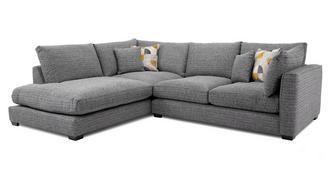 Keaton Weave Right Hand Facing Arm Small Open End Corner Sofa