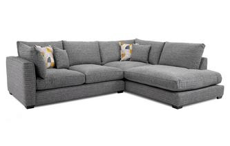 Weave Left Hand Facing Arm Small Open End Corner Sofa Keaton Weave