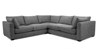 Keaton Weave Small Corner Sofa
