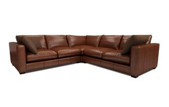 Keaton Leather Small Corner Sofa Keaton Leather