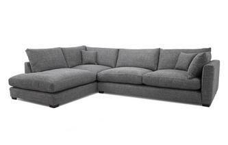 Weave Right Hand Facing Arm Large Open End Corner Sofa