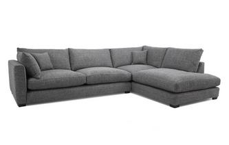 Weave Left Hand Facing Arm Large Open End Corner Sofa Keaton Weave