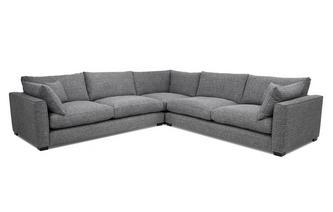 Weave Large Corner Sofa Keaton Weave