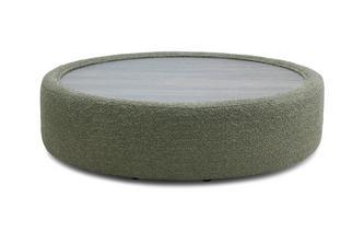 Hard Top Round Footstool