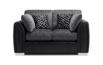 Formal Back Small 2 Seater Sofa Carrara