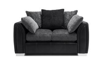 Pillow Back Small 2 Seater Sofa Carrara