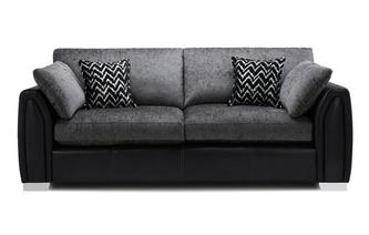 Formal Back 4 Seater Sofa Carrara