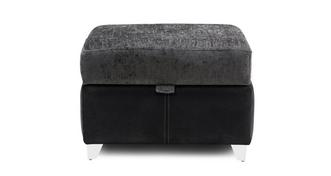 Krypton Plain Top Storage Footstool
