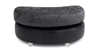 Krypton Half Moon Footstool