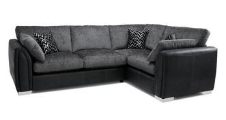 Krypton Formal Back Left Hand Facing 3 Seater Corner Sofa