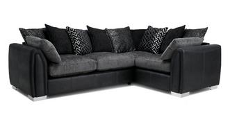 Krypton Pillow Back Left Hand Facing 3 Seater Corner Sofa