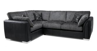 Krypton Formal Back Right Hand Facing 3 Seater Corner Sofa