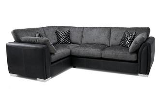Formal Back Right Hand Facing 3 Seater Corner Sofa Carrara