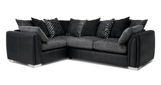 Krypton Pillow Back Right Hand Facing 3 Seater Corner Sofa