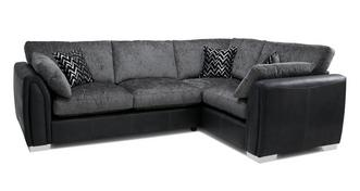 Krypton Formal Back Left Hand Facing Corner Supreme Sofa Bed