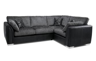 Formal Back Left Hand Facing Corner Supreme Sofa Bed Carrara