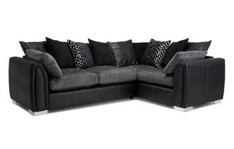 Pillow Back Left Hand Facing Corner Supreme Sofa Bed