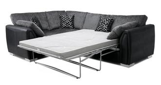 Krypton Formal Back Right Hand Facing Corner Deluxe Sofa Bed