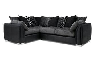 Pillow Back Right Hand Facng Corner Supreme Sofa Bed Carrara