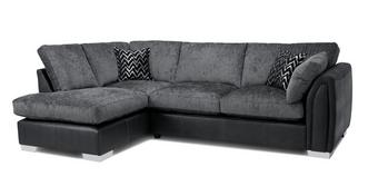 Krypton Formal Back Right Hand Facing Open End Corner Sofa